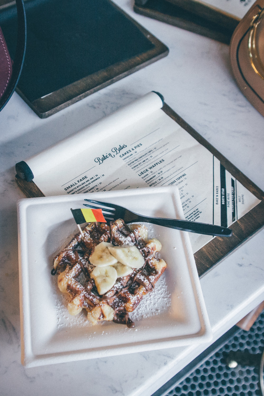 Nutella Liege Waffle at Bake'n Babes