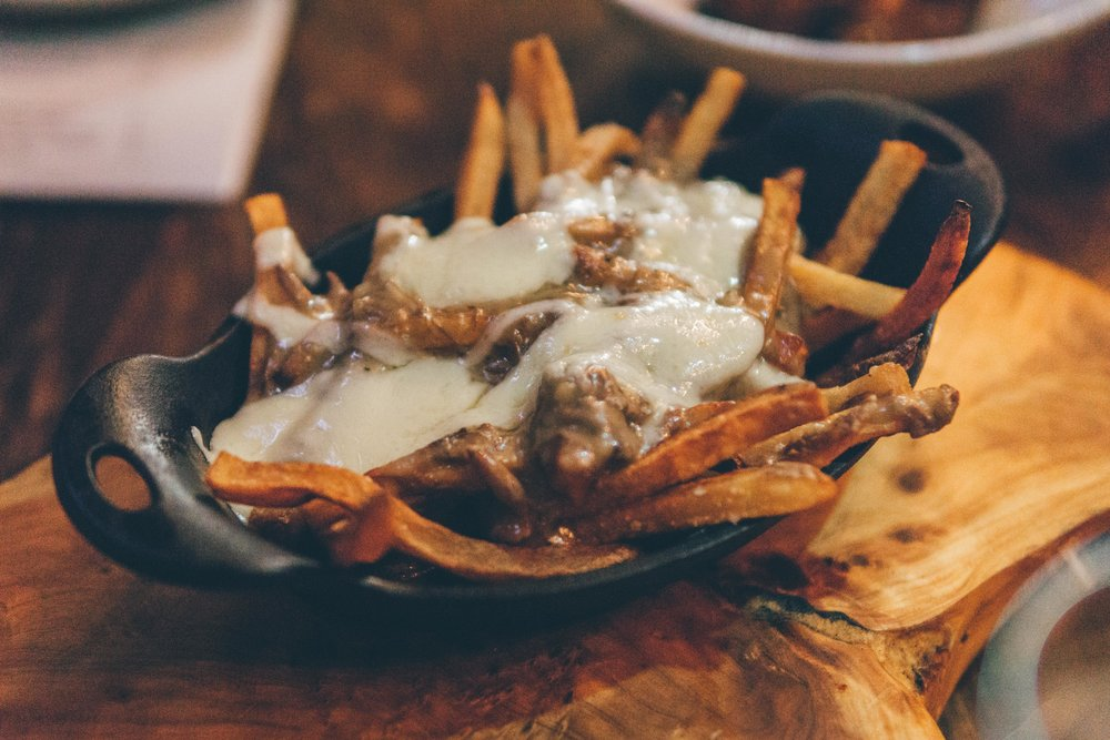 Poutine: Hand-cut Fries, Short Rib Gravy, Cheese Curds