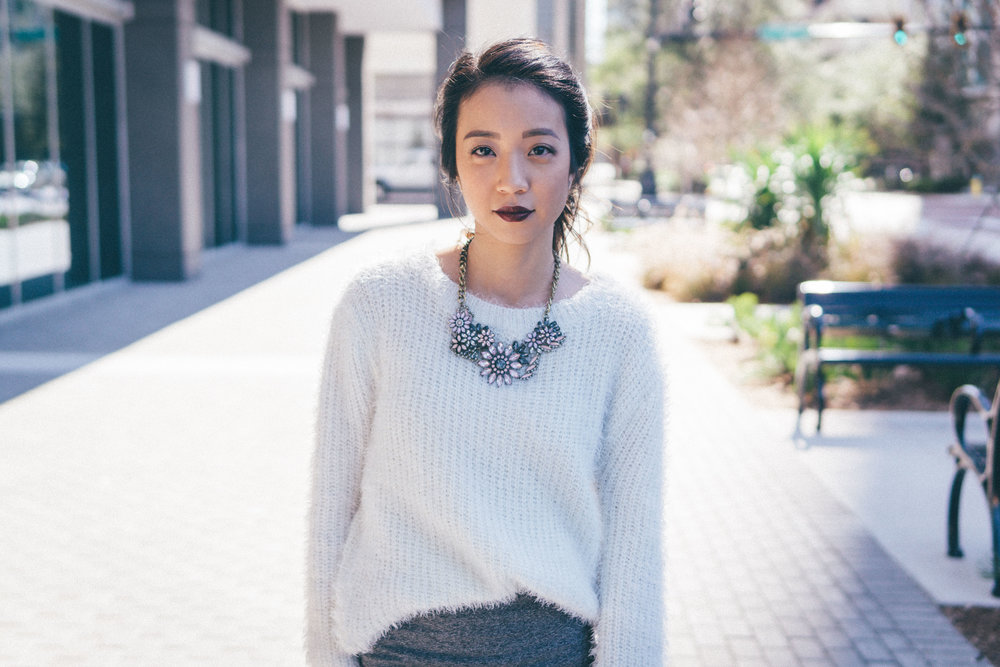 This Jenn Girl - Tampa Blogger - Fuzzy Sweater Outfit 2