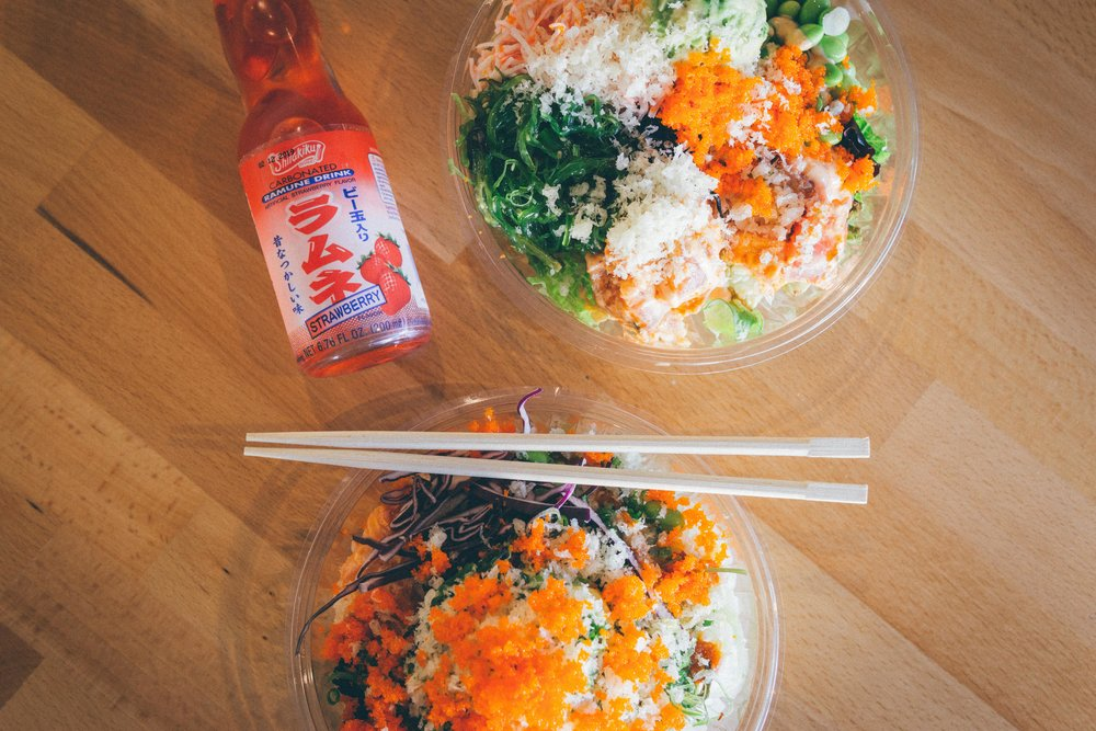 Poke Rice Bowl vs. Poke Salad