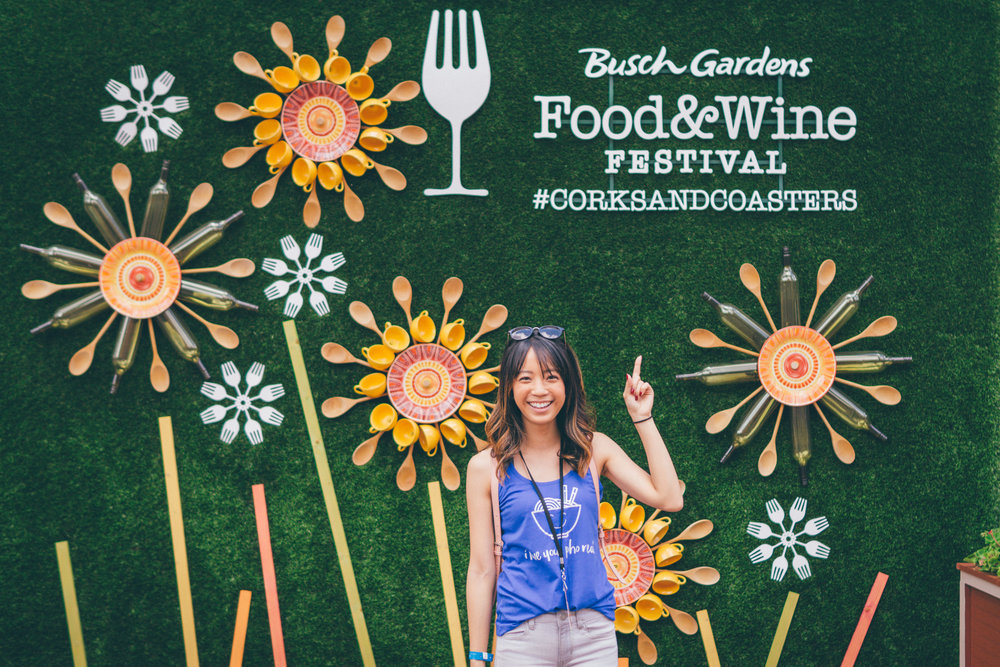 This Jenn Girl - Tampa Blogger - Busch Gardens Food & Wine Festival 1