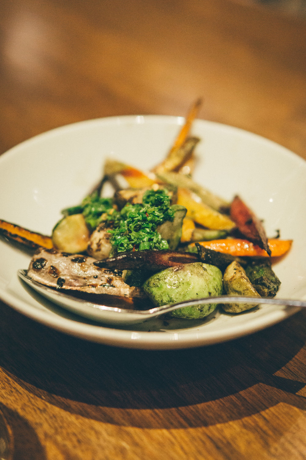 Roasted Petite Vegetable - with chimichurri