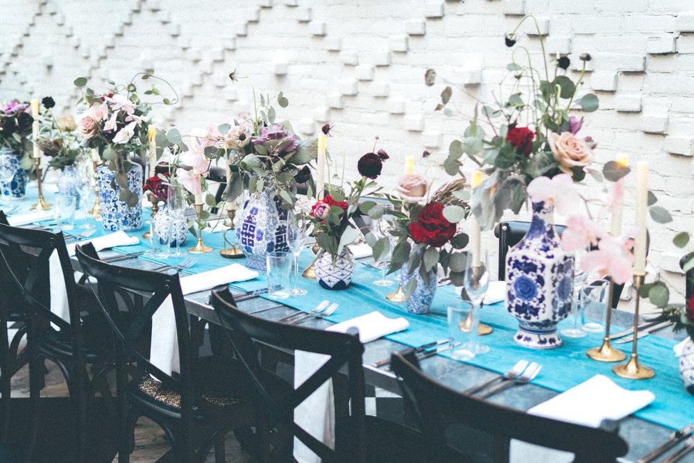 Gorgeous floral arrangements by  Botanica International Design Studio
