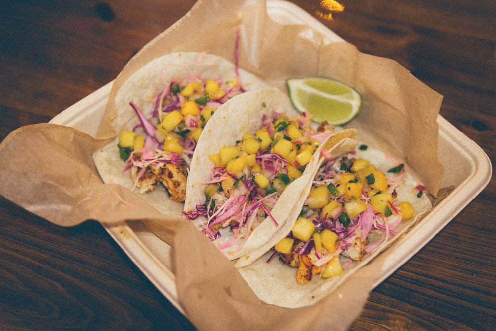 Blackened Red Snapper Tacos