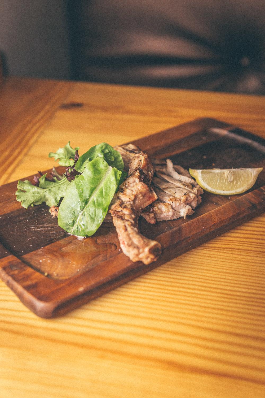 Grilled 10 oz Bone-In Pork Chop