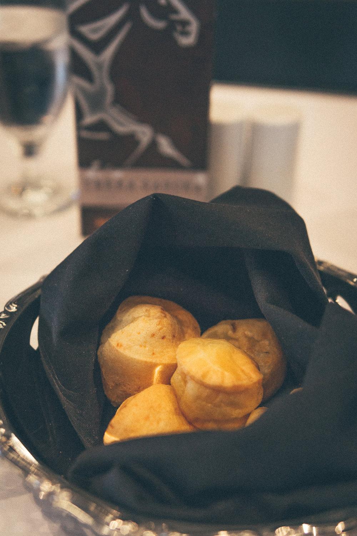 Brazilian Cheese Bread (Pao de Queijo): Made with cassava flour & Parmesan cheese
