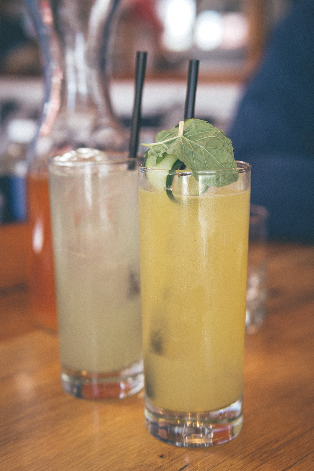 Mint Fresca Lemonade & Port Chester Reviver
