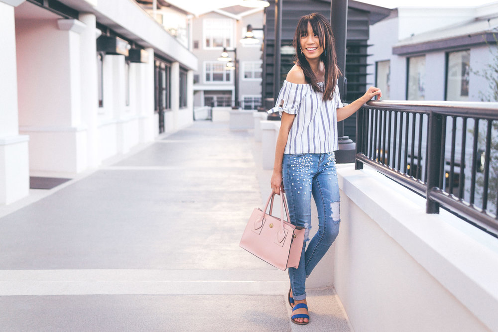 This Jenn Girl - Tampa Blogger - Pearlized Jeans 5