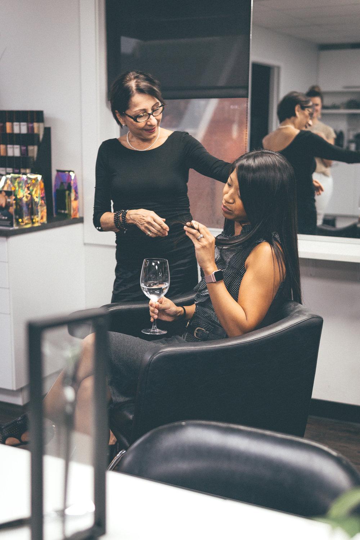 This Jenn Girl - Tampa Blogger - Salon Inga Calligraphy Hair Cut 1