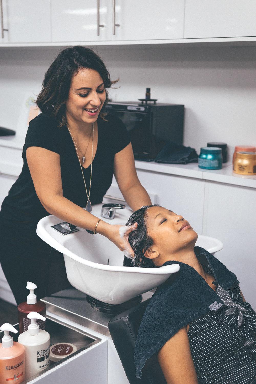 This Jenn Girl - Tampa Blogger - Salon Inga Calligraphy Hair Cut 2