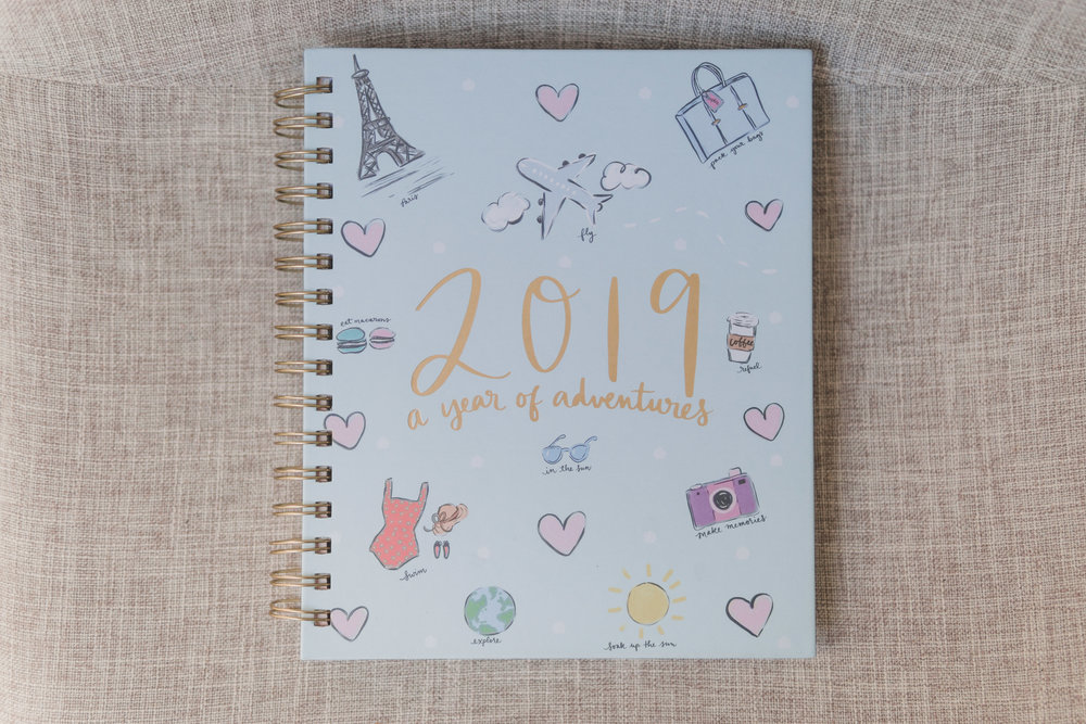 Eccolo 2019 Spiral Planner - Eccolo has been my go-to planner brand for the past couple of years now - I love the way the pages are formatted, and the stickers it comes with is a plus! You can find them for under $15 at your local Marshalls store.