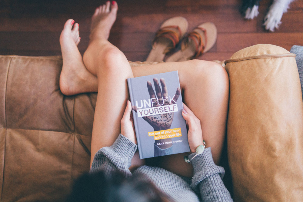 Unfu*k Yourself: Get Out of Your Head and into Your Life by Gary John Bishop - I am such a fan of this book - it's a combination of motivational, witty and brutally honest, and a great way to charge into a 'New Year, New You' mentality.