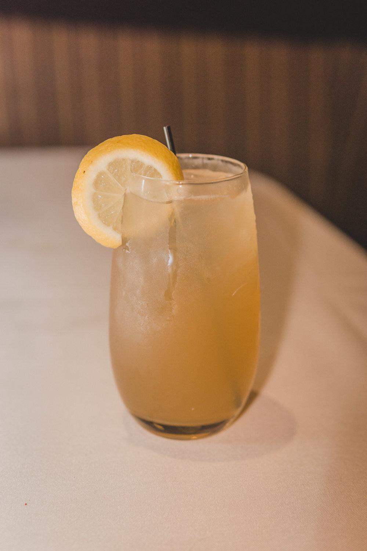 Rye Me A River: Templeton Rye, Domaine de Canton, Fresh Honey, Lemon