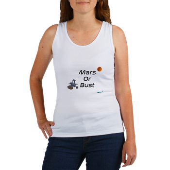 Mars or Bust Tank Top                        $16.99