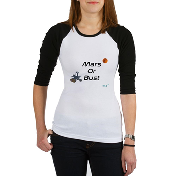 Mars or Bust Baseball Jersey             $18.99
