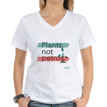 Plants Not Petros V-Neck                   $16.99