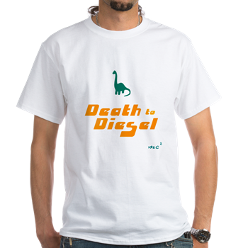 Death to Diesel T-Shirt (White)            $16.99
