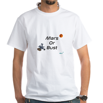Mars or Bust T-Shirt                        $16.99