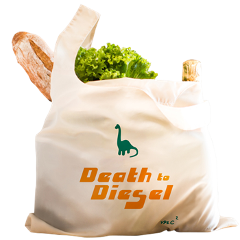 Death to Diesel Grocery Bag              $17.49