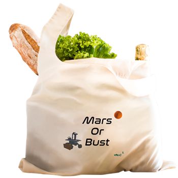 Mars or Bust Grocery Bag                  $17.49