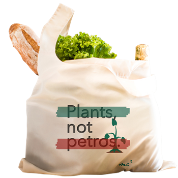 Plants Not Petros Grocery Bag           $17.49