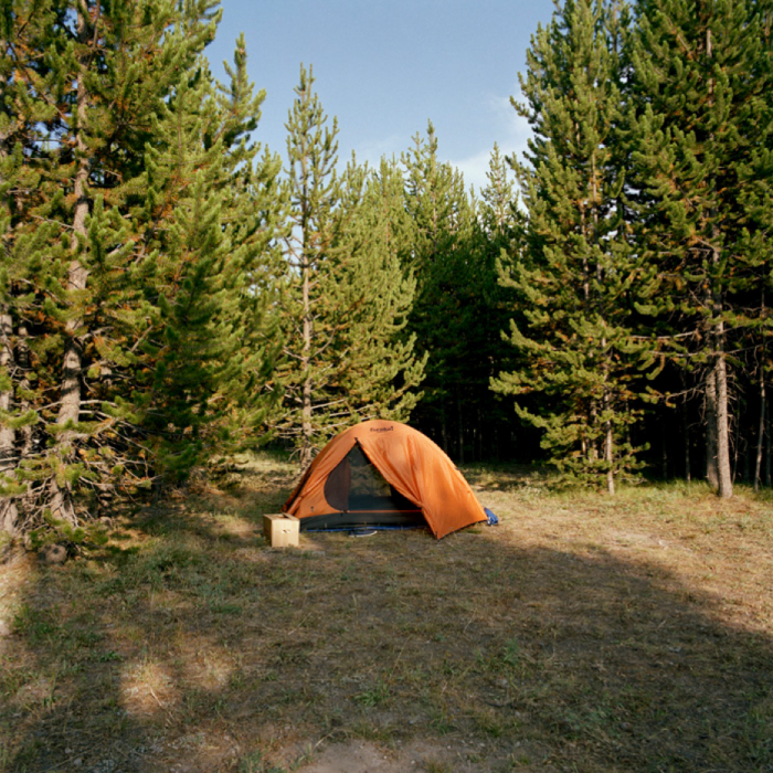 Tent, Yellowstone National Park, WY