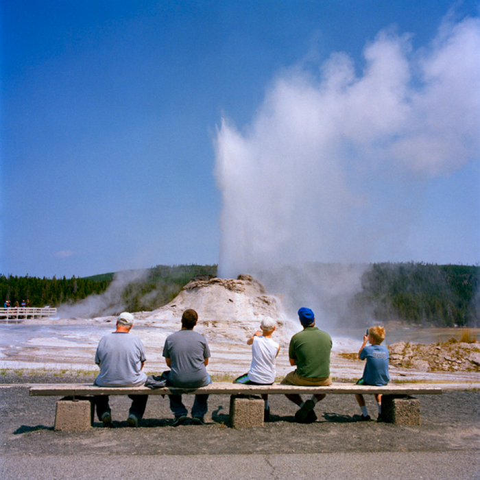 Castle Geyser, Yellowstone National Park, WY