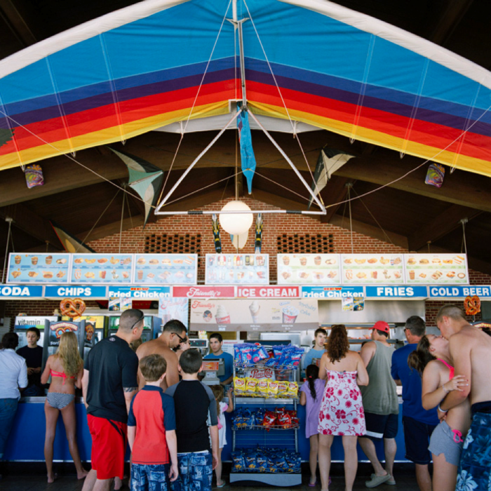 Snack Bar, Robert Moses State Park, NY