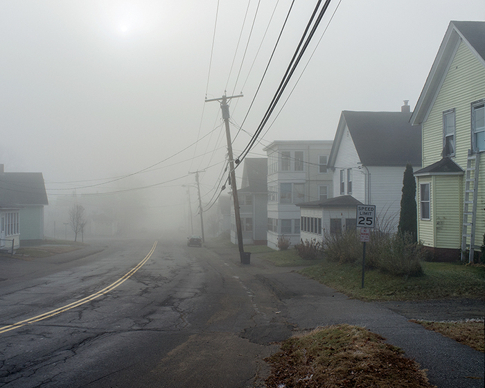 """Northern Avenue. Augusta, ME 2012"" by Sean Litchfield (http://www.seanlitchfield.com)"