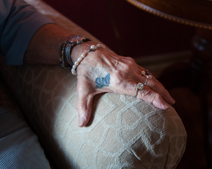"""My Grandmother's First Tattoo (80 Years Old)"" by Jon Horvath (http://www.jonhorvath.net)"