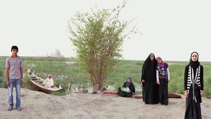 Adam and Eve in South Iraq Marshes