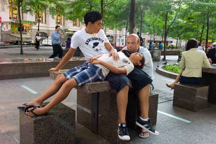 Zuccotti Park, New York 2010