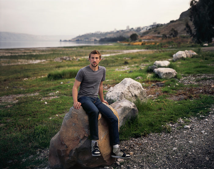 Ben, The Sea of Galilee, 2009