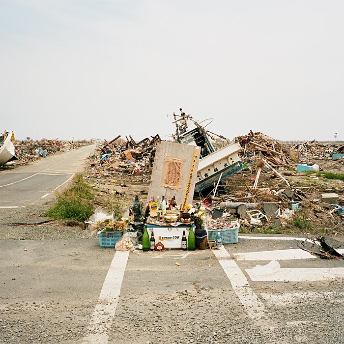 Cenotaph - 6km from Fukushima Daiichi Nuclear Power Plant