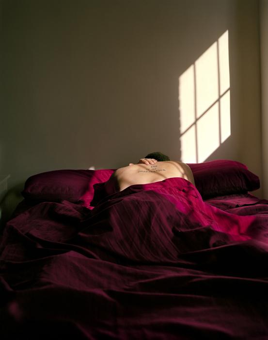 Self-portrait (bed), 2011