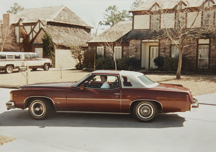 In the Company Car in 1981, Spring, Texas