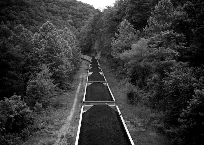 Coal Cars, Mingo County, WV by Roger May
