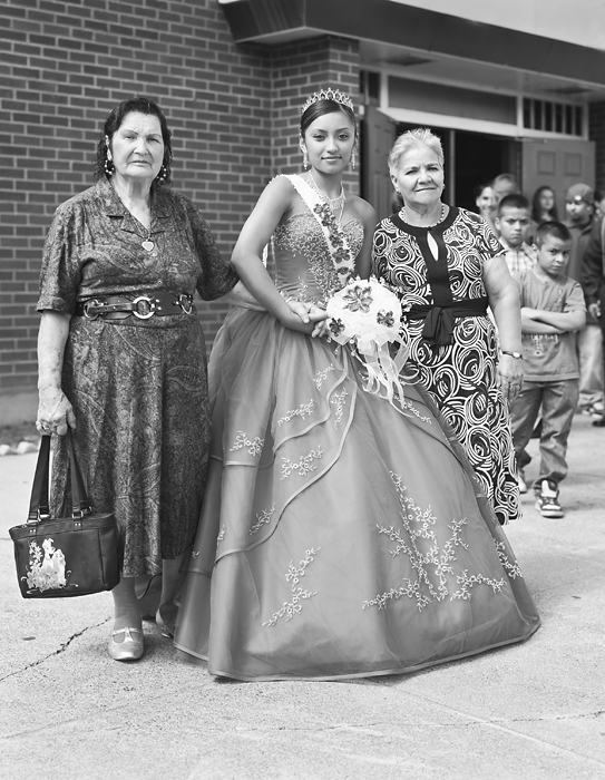 Girl at her Quincenera, Toppenish WA 2007