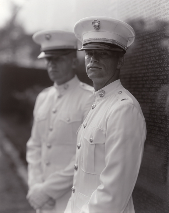 Untitled, Portraits at the Vietnam Veterans Memorial, Washington, D.C., 1983