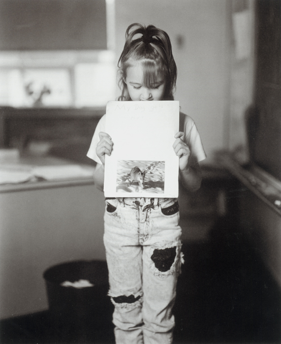 Tara Schwenk's Book Report, My Dog Gets Hurt, A.D. Thomas Elementary School, Hazleton, Pennsylvania, 1993