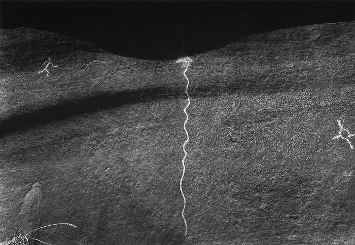 Petroglyph, San Cristobal Pueblo, Galisteo Basin, N.M. 2009