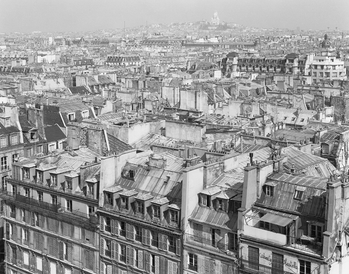 Paris Rooftops, 1980