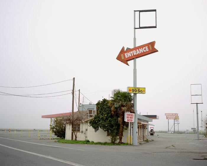 Merced Truck Stop. Merced, CA 2009