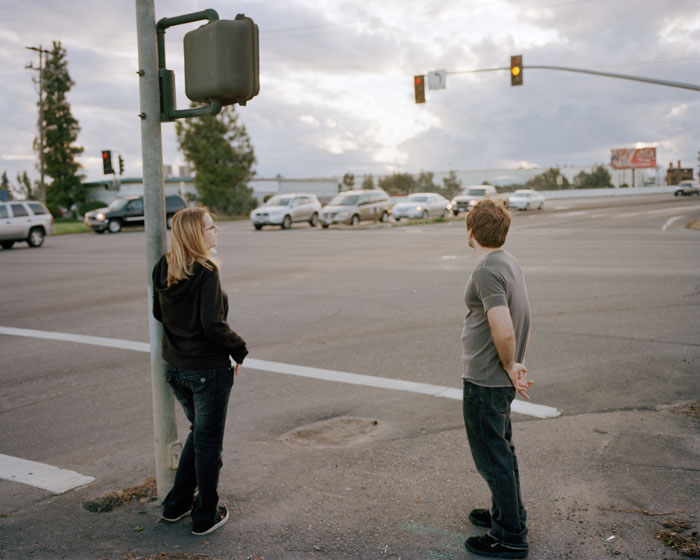 Cat and Cody on Snelling Highway. Merced, CA 2011