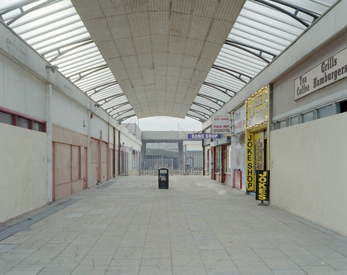 Shopping arcade, Margate, December 2010