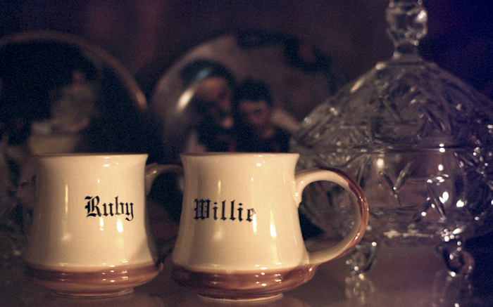Ruby and Willie mugs