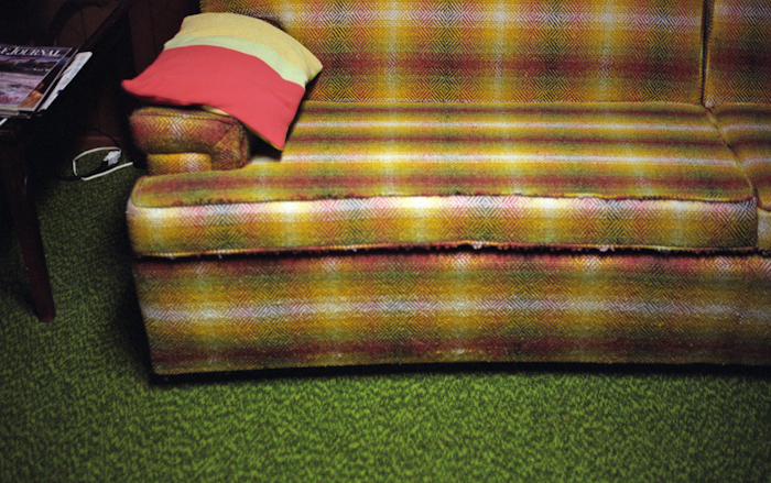 Basement Couch (Detail)