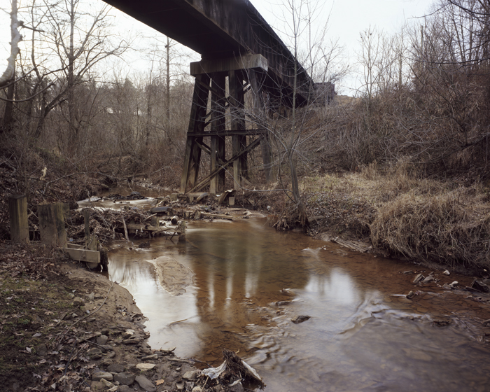 Rail Bridge, Smith Mill Creek, Ashville, North Carolina