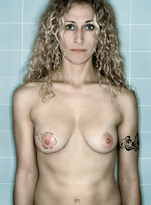 Self Portrait, Pre-Mastectomy, 11.2005