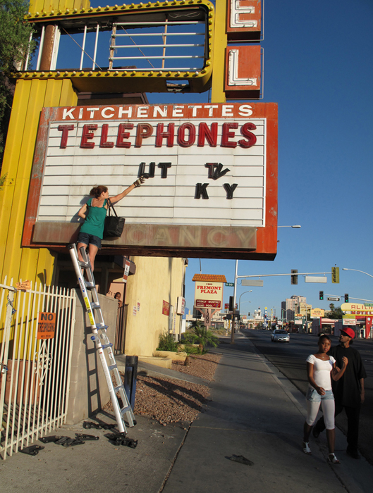 View of Installation, Las Vegas NV 2009